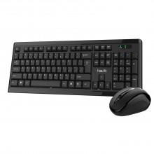 Клавиатура и мышь беспроводная Havit wireless USB black HV-KB257GCM