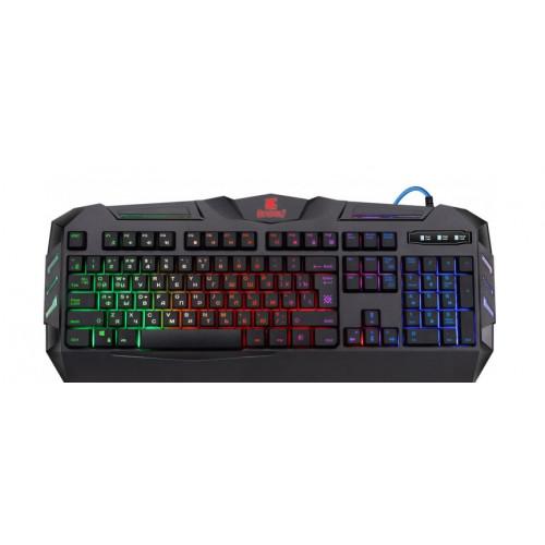 Клавиатура Defender Werewolf GK-120 DL, RGB подсветка, игровая