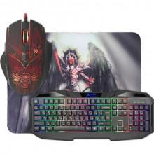 Набор игровой Defender Anger MKP-019 клавиатура, мышка, коврик
