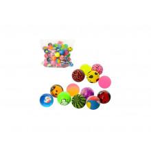 Стрибуни каучукові 3,2 см в кульку (100) №MS1337