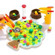 Игрушка деревянная игра Яблочки Top Bright №120379