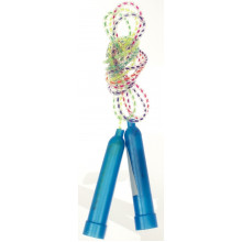 Скакалка 1,95 м, ручки пластикові, мотузка гумова, 3 кольори (10) (600) MS0827
