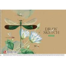 Альбом для малювання на пружині 30/120 A4 картон Школярик (9) (63) PB-SC-030-296