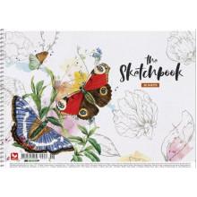 Альбом для малювання на пружині 30/120 A4 картон Школярик (9) (63) PB-SC-030-297
