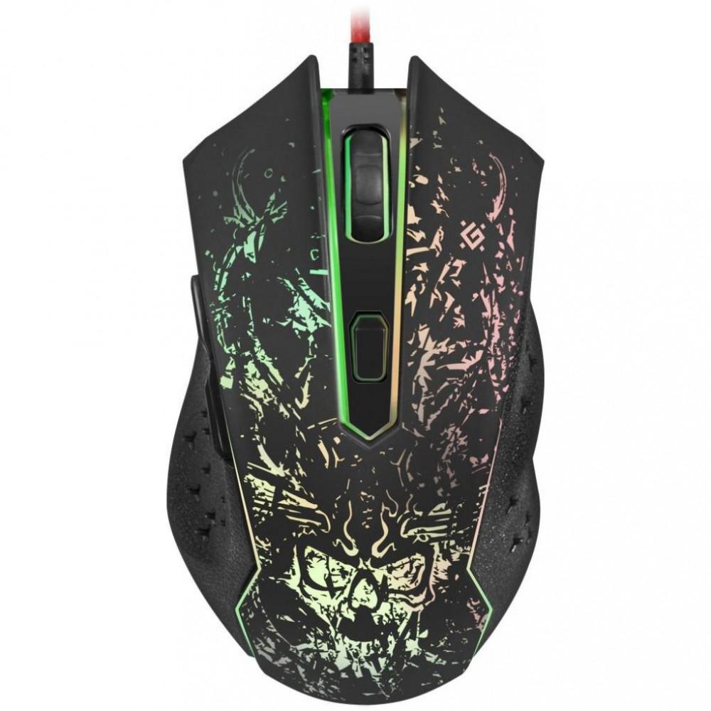 Мышка Defender Demoniac GM-540 L 3200 dpi игровая