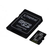 Карта памяти 64 Gb Micro-SDXC (UHS-1) Kingston Canvas Select Plus R-100 MB/s adapter class10 A1 8697