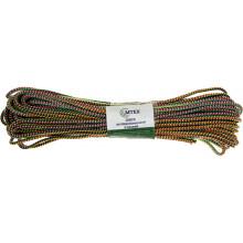 Веревка для белья М-тех d-4 мм L-20 м цветная №91299/17454