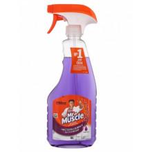 Средство для мытья стекол Мистер Мускул 500 мл курок Лаванда (12)