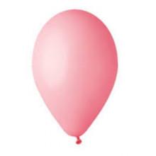 Кулька повітряна 26 см/10 рожева (100) G90/09571