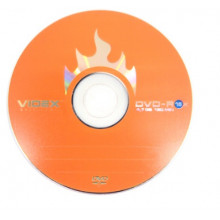 DVD-R 16 х 4. 7Gb/120min Videxbulk (10)