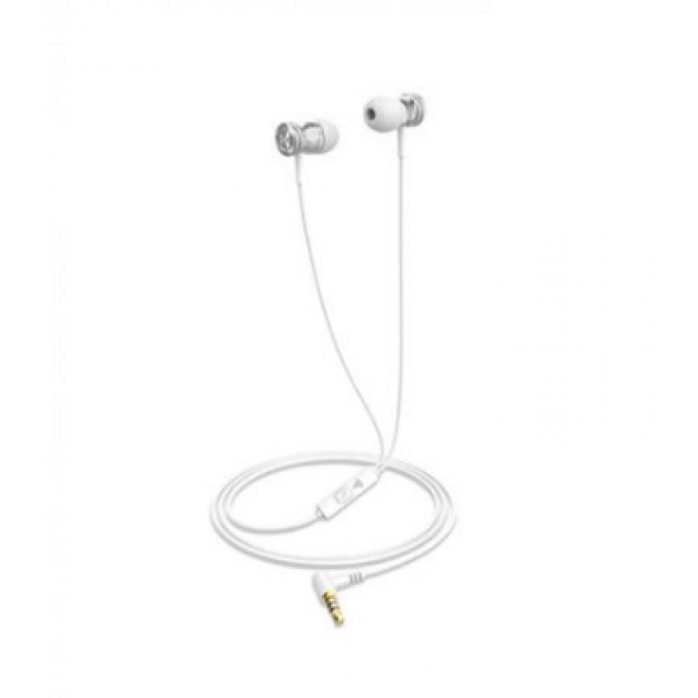 Наушники вакуумные Havit HV-E303P white, микрофон