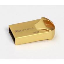 Флэш-память 16GB Mibrand Hawk USB 2.0 gold №0663