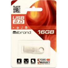 Флэш-память 16GB Mibrand Puma USB 2.0 silver №1110