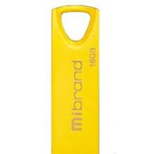 Флэш-память 16GB Mibrand Taipan USB 2.0 gold №1356