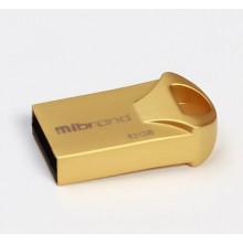 Флэш-память 32GB Mibrand Hawk USB 2.0 gold №0693