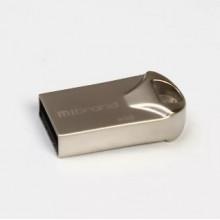 Флэш-память 32GB Mibrand Hawk USB 2.0 silver №0709