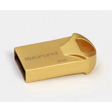Флеш-пам'ять 4 GB Mibrand Hawk USB 2.0 gold 0726