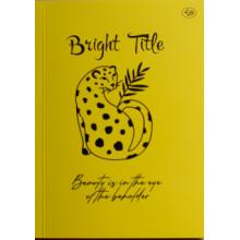 Блокнот A5 40 листов без линовки Profiplan Bright Title note jaguar №902545