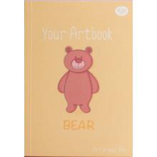 Блокнот A6 48 листов без линовки Profiplan Artbook bear №902361