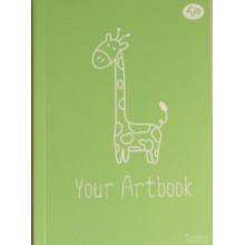 Блокнот B6 40 листов без линовки Profiplan Spoony giraffe 902774