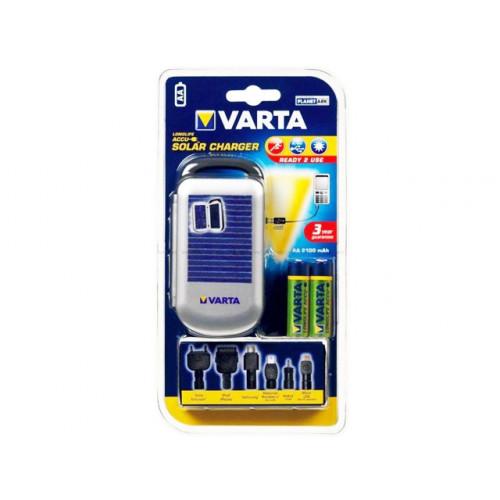 Зарядний пристрій універсальний Varta Solar R2U 57082 101421 2xAA2100mAh