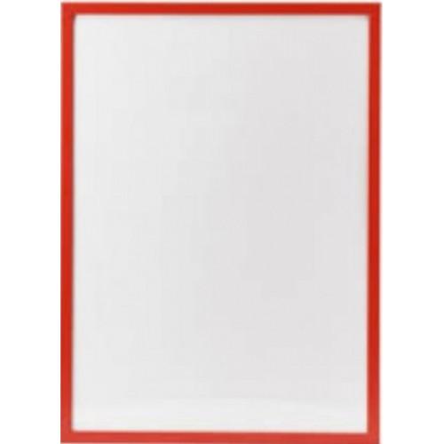 Фоторамка LA 15х21 красная, белая оторочка (20) №LA-047