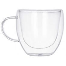 """Чашка скло 200мл """"Ringel.Guten Morgen"""" подвійна стінка №RG-0002/200/74762(12)(48)"""