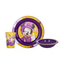 Сервиз детский пластиковый 3 предмета Herevin. Disney Minney (6) №184969/162441-801/14969/20809