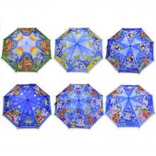 Зонтик детский Робокар Поли 65см (12) (60) КИ №UM5472