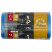 Пакеты для мусора Sweet home/Anna Zaradna HDPE 35л 100 шт (40) №2280