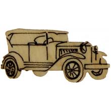 Автомобиль 2,5-3,5 см фанера ассорти