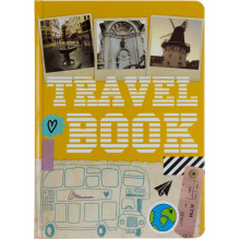 Книжка А5 Альбом друзів: Travelbook4 українською Талант 4504