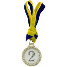 Медали 2 место 4,4 см (100) №В23461