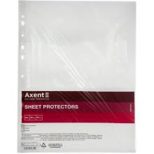 Файл А4+ Axent 90 мкм глянцевий 20шт в пачці (50 пачок/ящик) 2009-20