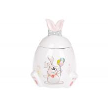 Банка керамическая Bonadi Веселый кролик 450 мл (1) (36) №DM152-E