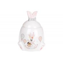 Банка керамическая Bonadi Веселый кролик 450 мл (1) (36) №DM151-E