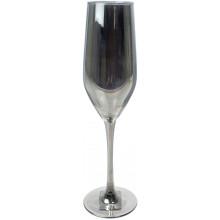 Келих скло Luminarc. Селест Сяючий графіт 160 мл шампанське №1627/P1564/1