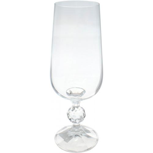 Келих скло Bohemia Claudia 280 мл шампанське №85466
