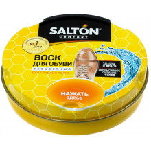 """Віск """"Salton"""" для взуття з норковим маслом безбарвний 75 мл №0064/4775/19"""