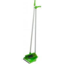 Совок та щітка Dust Set зелений (12) №AF201