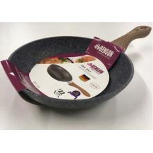 Сковорода гранитное покрытие Benson 22 см №BN-533