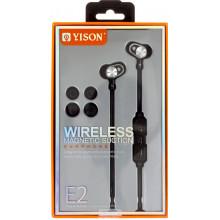 Наушники вакуумные Yison E2 bluetooth, stereo гарнитура black, микрофон