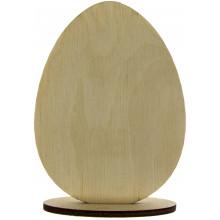 Подставка Яйцо для декупажа 10 см фанера