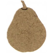 Груша 1,5-2,5 см МДФ асорті (10)