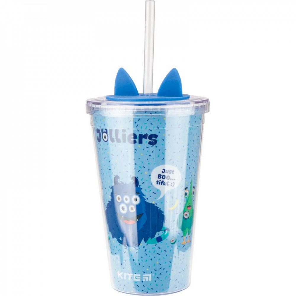 Стакан для напитков пластик Kite Jolliers 460 мл №K19-176-01
