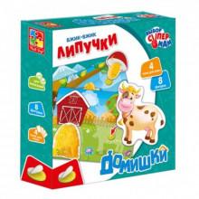 Гра  Вжик-вжик Липучки. Домівки VT1302-24