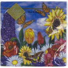 Серветки столові ТМ Luxy 3-х шарові 20 шт Сонячний день (15)