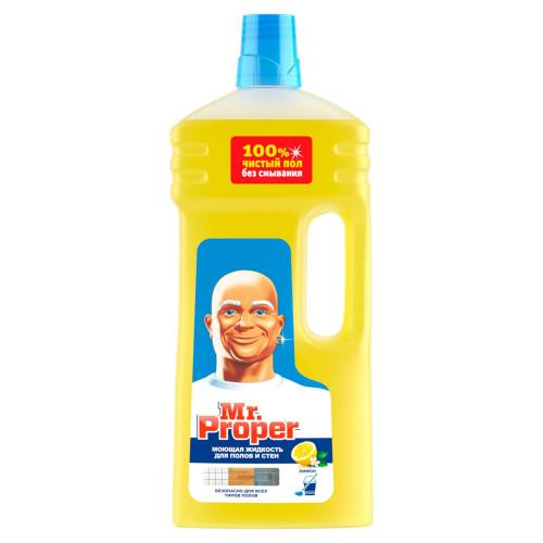 Моющее средство для пола и стен 1 л Мистер Пропер Лимон (14)