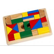 Іграшка дерев'яна блоки 25 шт HJD93506