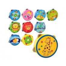 Іграшка дерев'яна Бубон 10 видів в кульку 15,5х15,5х4,5см MD0367 (50)